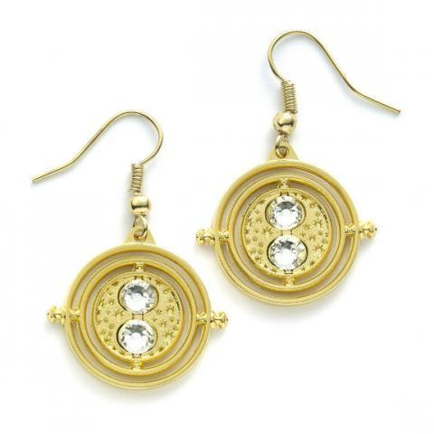Boucles d'oreilles Retourneur de temps immobile - Boutique Officielle Harry Potter