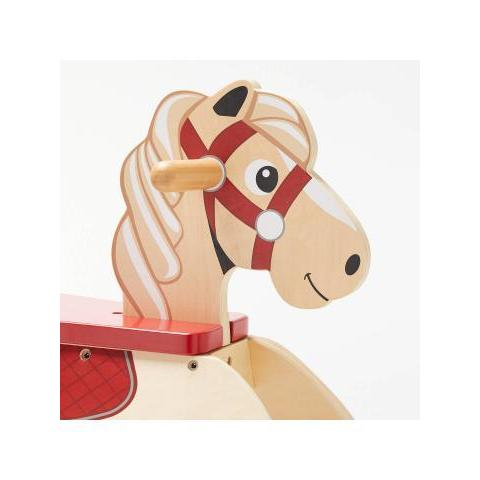 John Lewis & Partners Carousel Wooden Rocking Horse at John Lewis & Partners