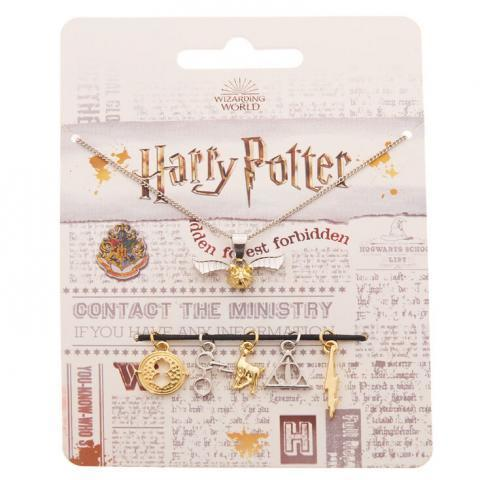 Collier à breloques Harry Potter™ - Lot de 6 | Claire's FR