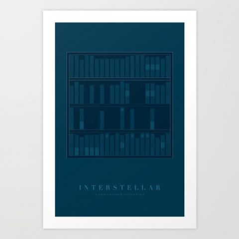 Interstellar Inspired Print Art Print by PhinCreative | Society6