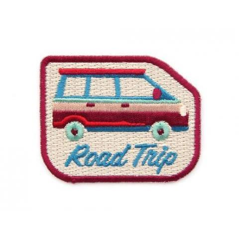 Amazon.com: Road Trip Embroidered Sew or Iron-on Backing Patch