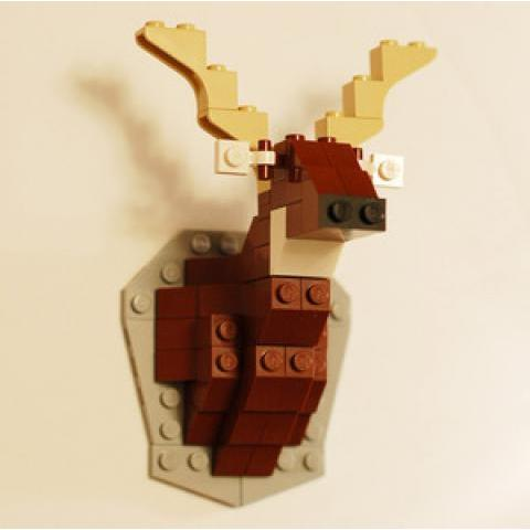David Cole — Taxidermy Deer LEGO Kit