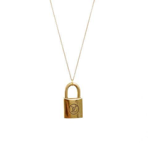 Louis Vuitton Necklace - Browse & Shop LV Lock Necklaces Today
