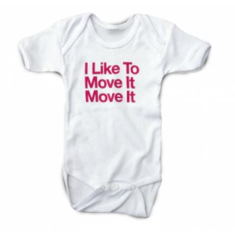 Body bébé I Like to move it move it, tee-shirt enfant : T-shirt Original Music Shirt
