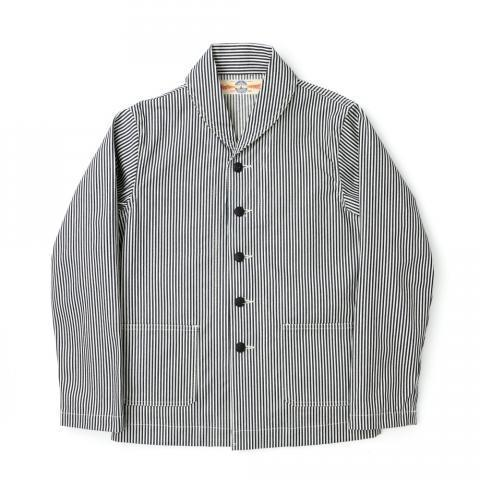 The Real McCoy's WWII Stripe Jacket - Hickory - LATEST  - Superdenim